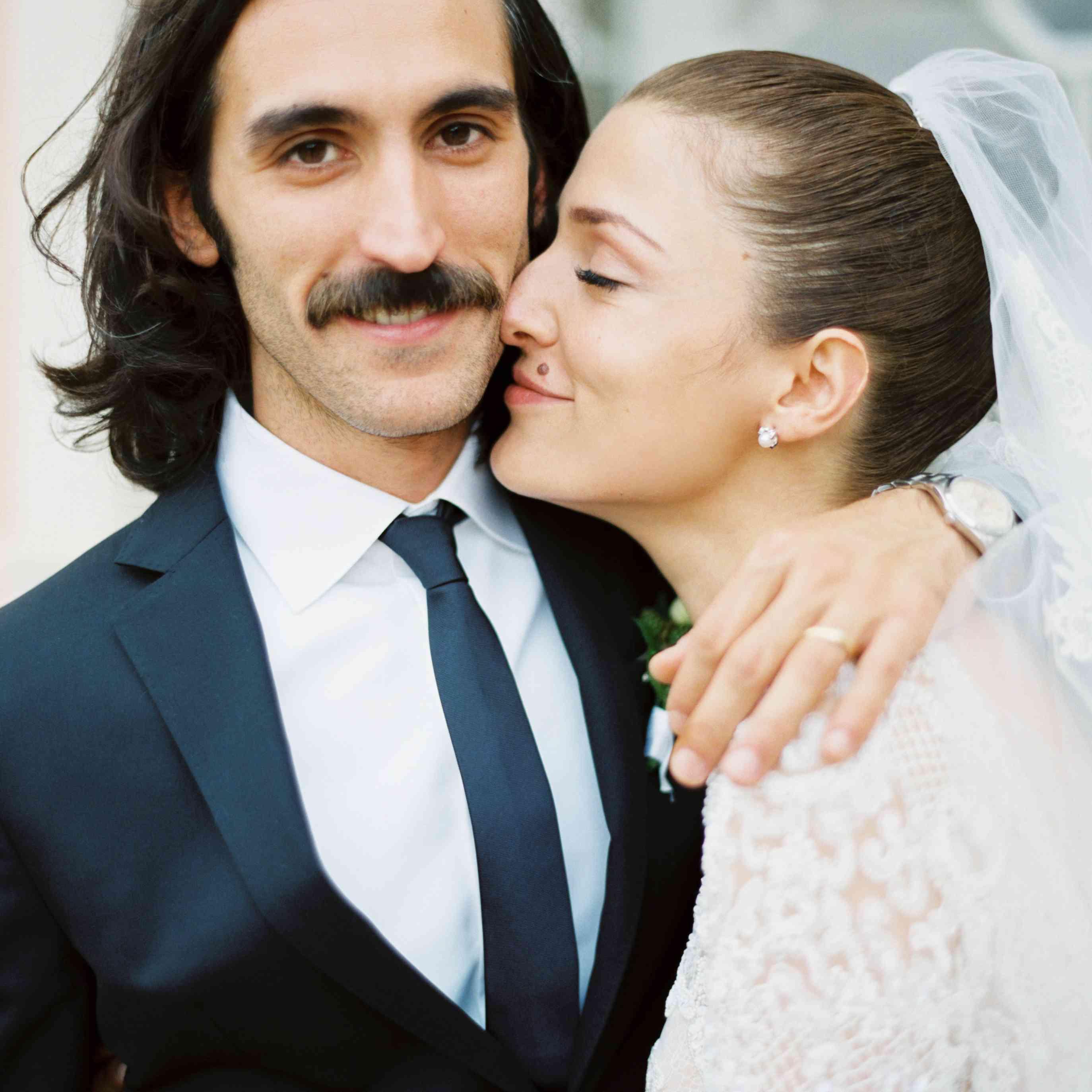 Northern Italian Wedding, Bride and Groom