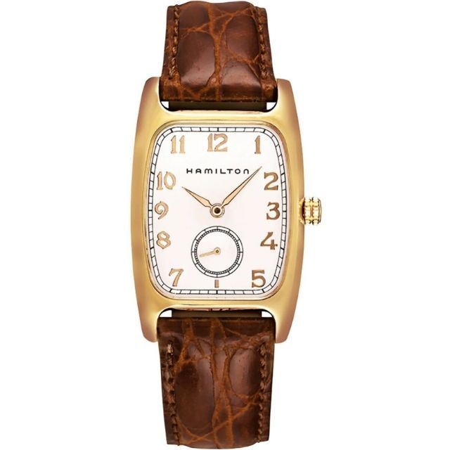Hamilton Men's Boulton Silver Dial Watch