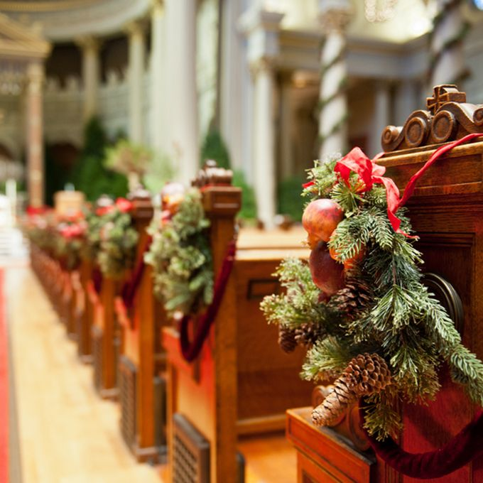 Wedding Decoration Church Ideas: Winter Wedding Ideas From Real Couples