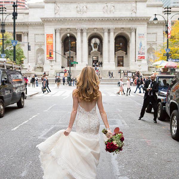 Bride in Manhattan