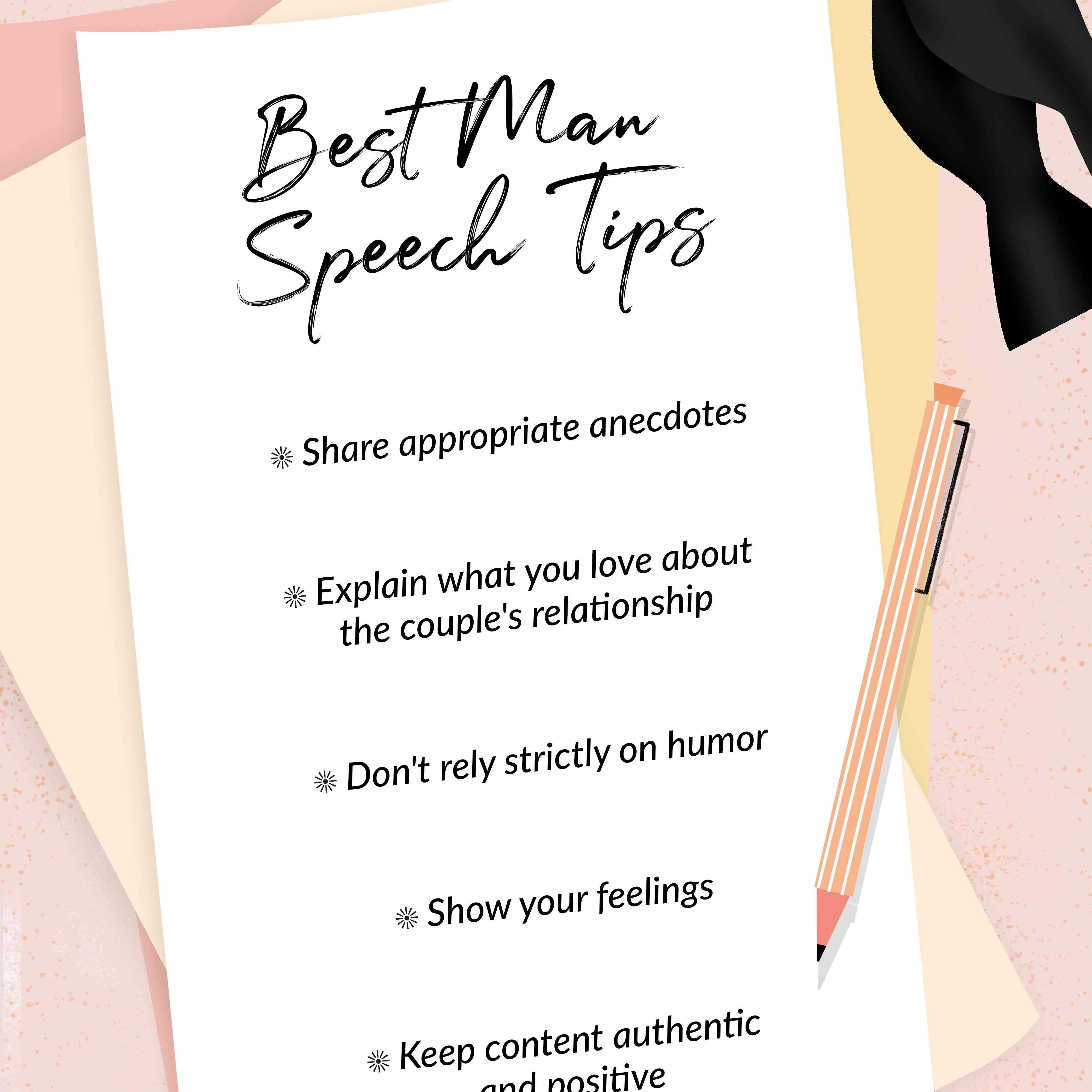Write A Best Man Speech