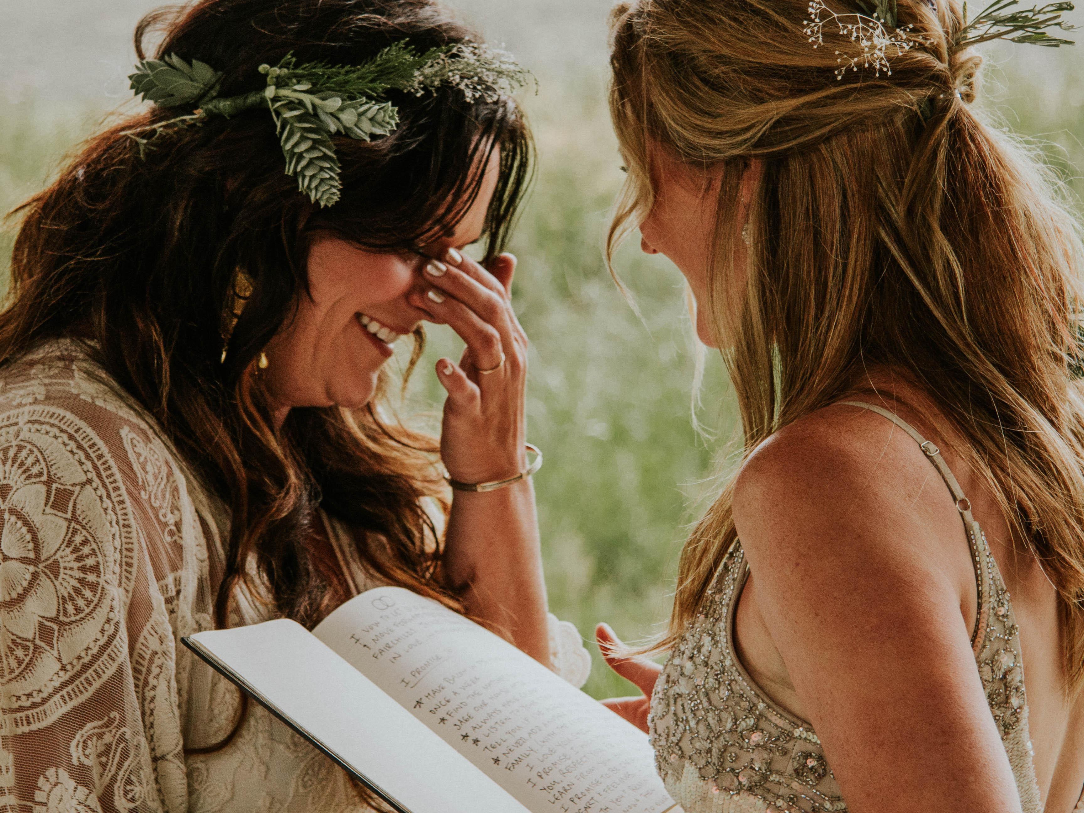 Same sex wedding readings