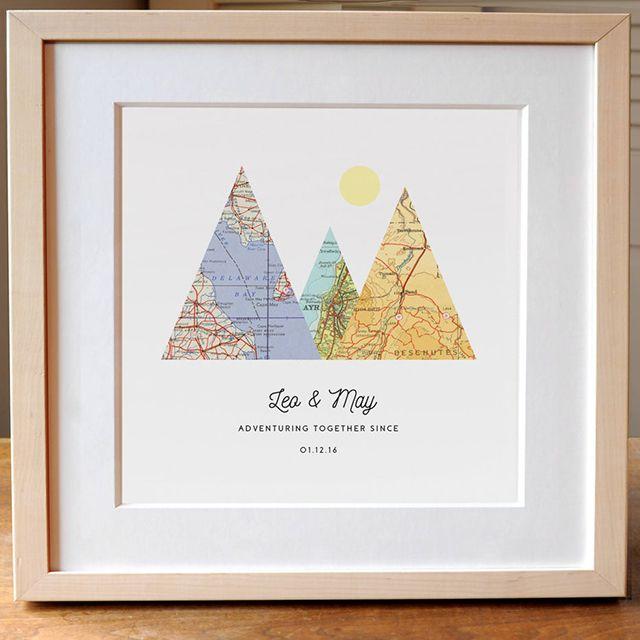 Agier Design Adventure Together Print