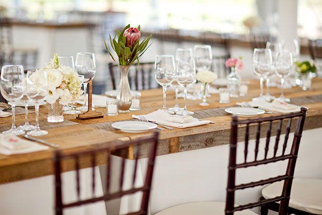 reception décor