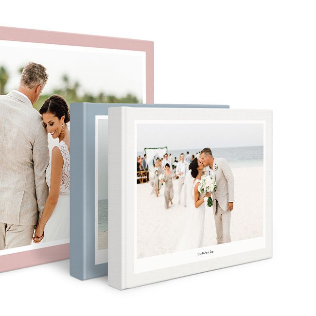 Milk Books, Premium 3 Piece Wedding Album Set