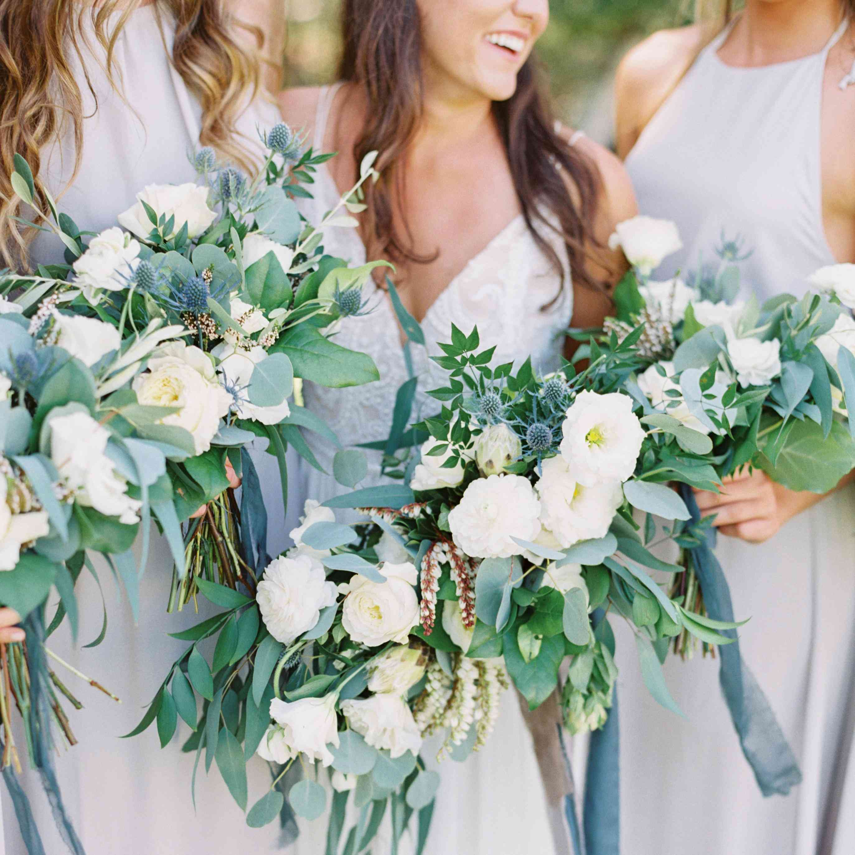 Wedding Gown Color Meanings: 8 Nail Polish And Bridesmaid Dress Color Combos You (and