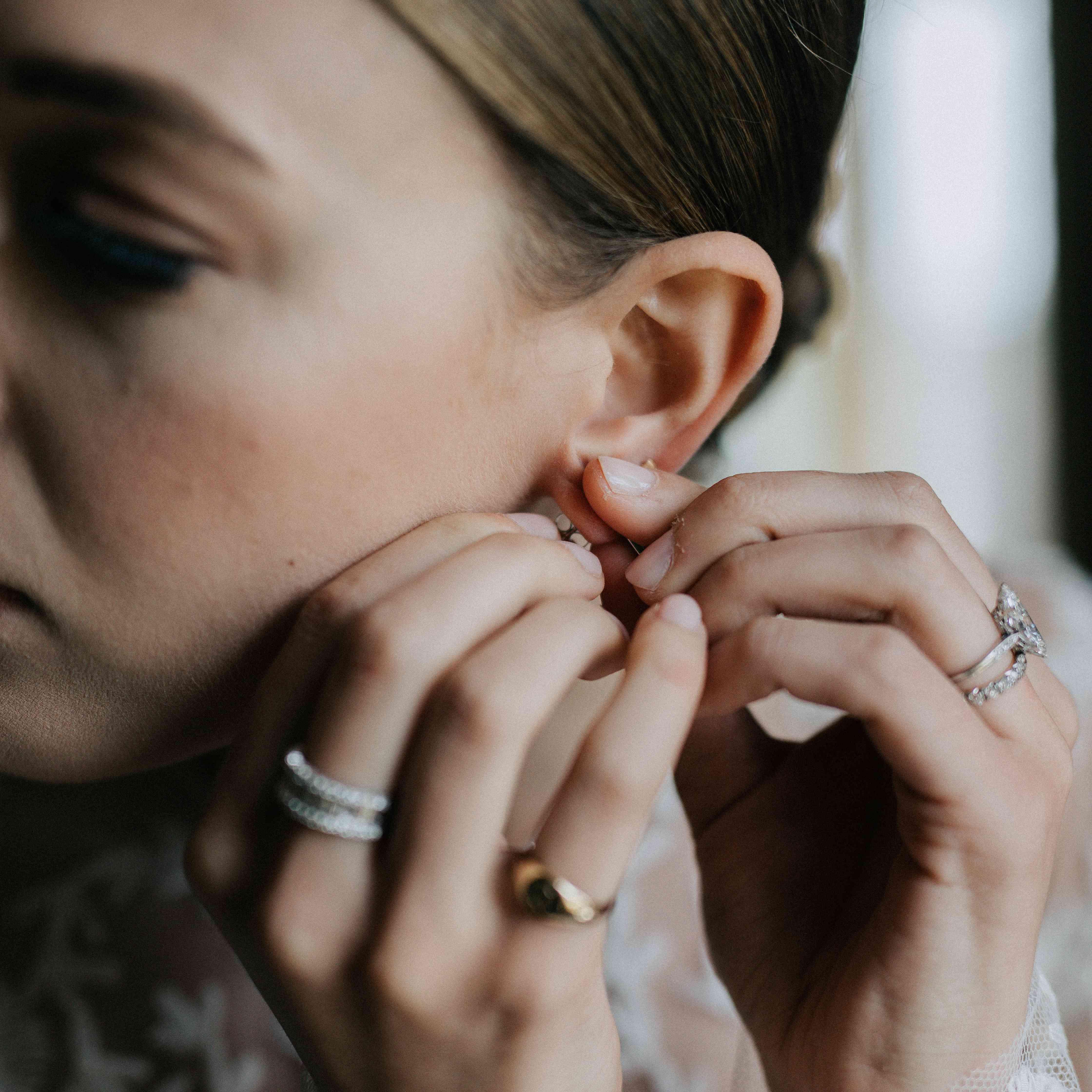 bridal jewelry earrings