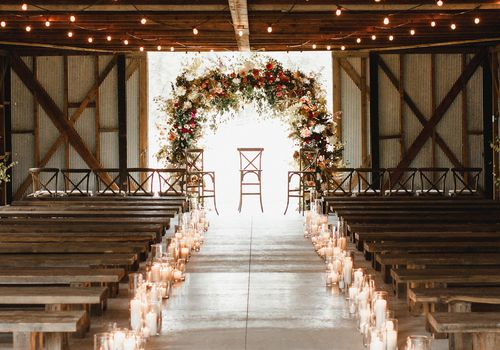 9 Beautiful Ways to Decorate Your Wedding Aisle