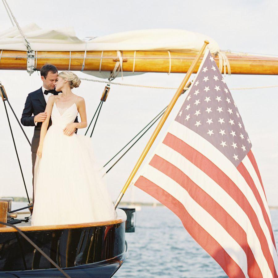 <p>Wedding photo at Chesapeake Bay in Maryland</p>