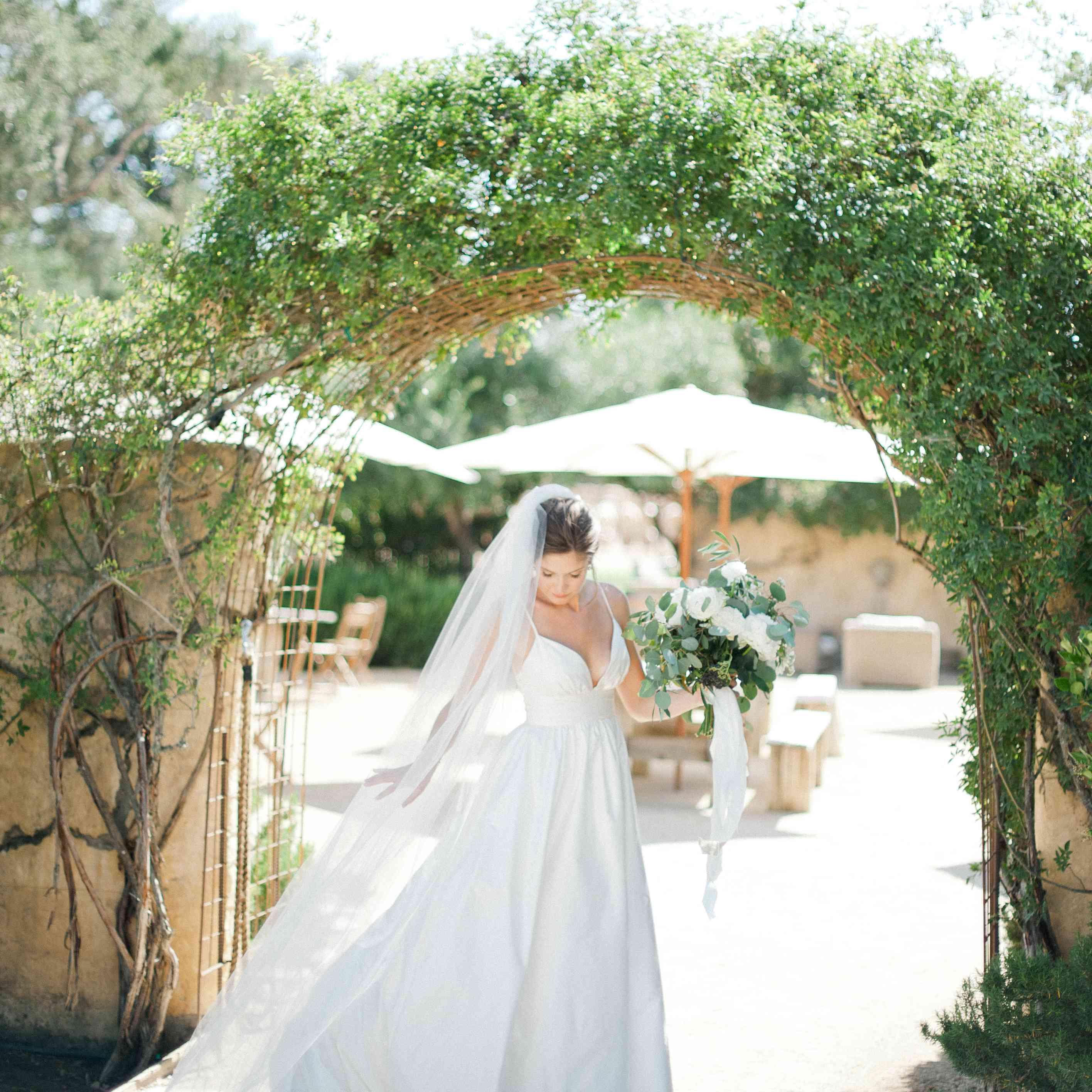 Bride at Sunstone Winery