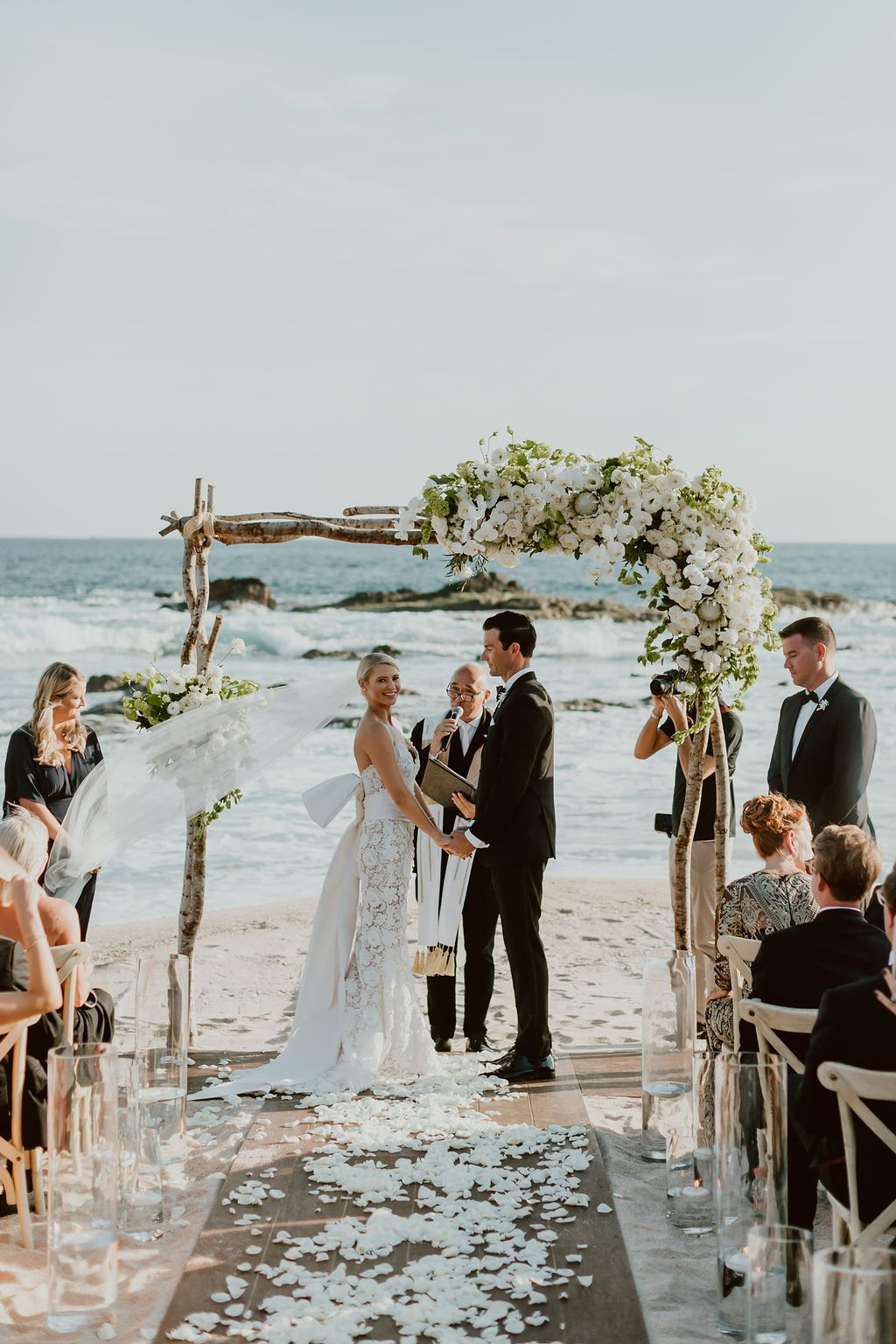 A Black-Tie Beach Wedding At Esperanza In Cabo San Lucas