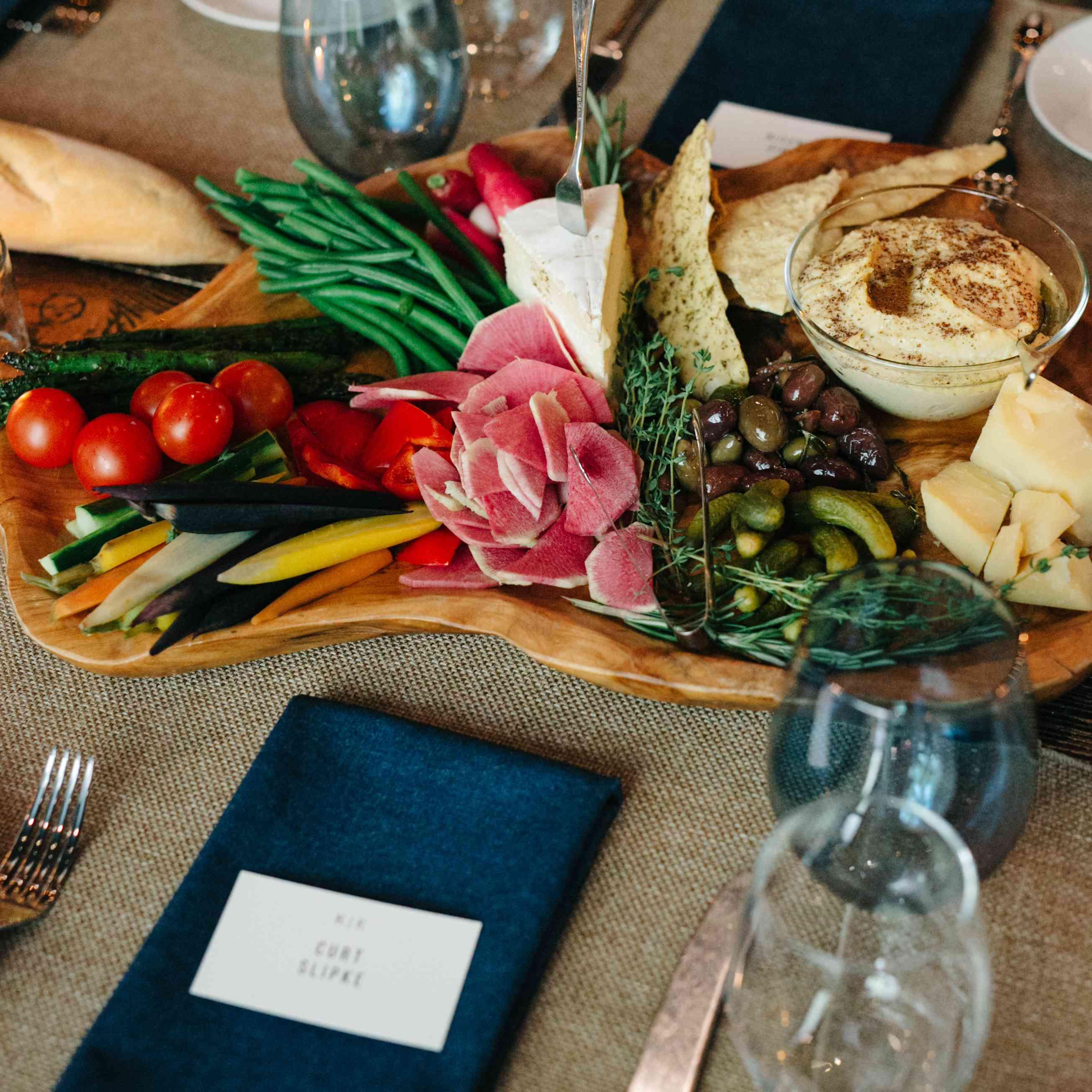 <p>Food platter</p><br><br>