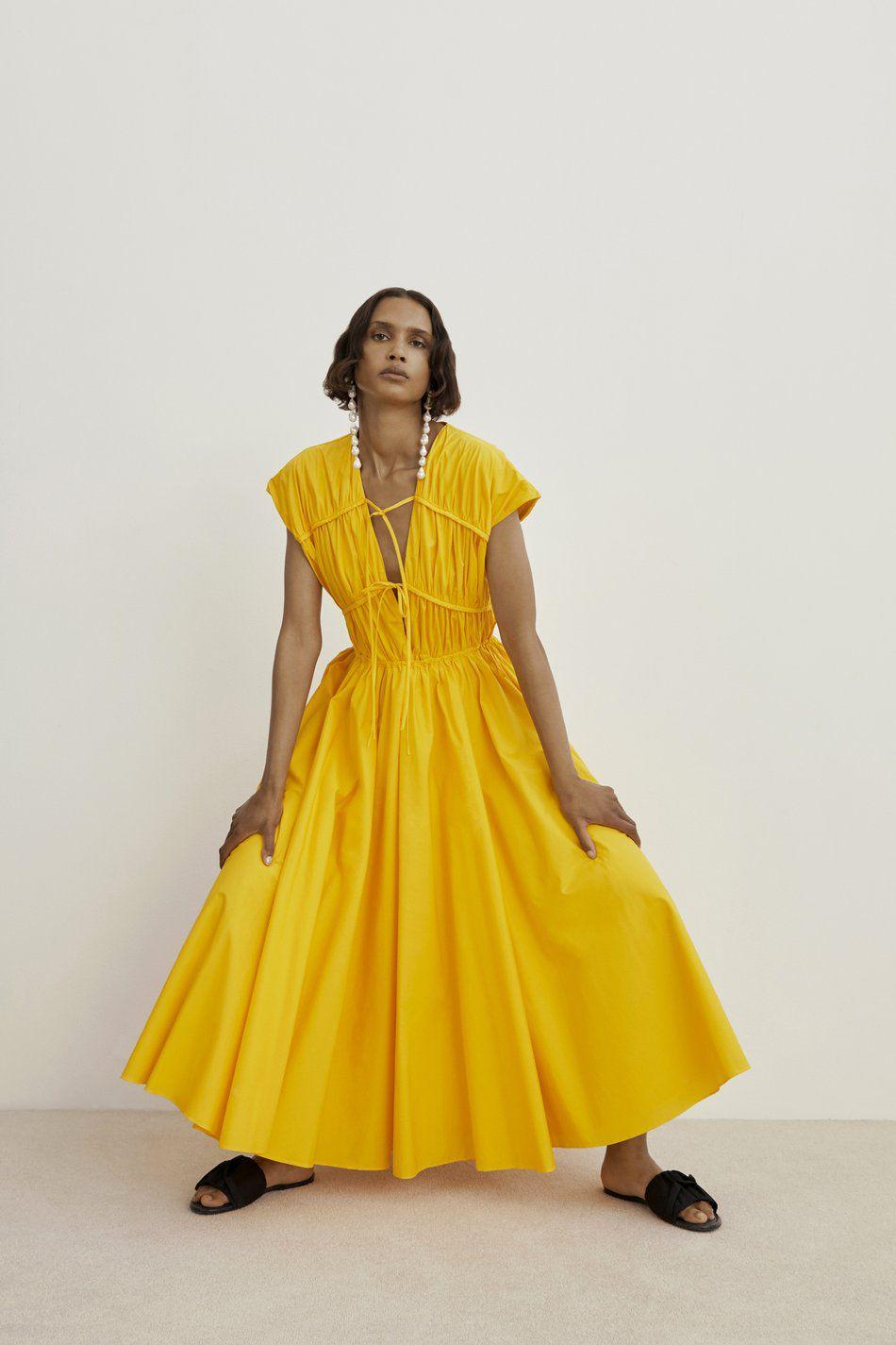 Tove Ceres Cotton Midi Dress $592