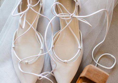Bridal flats and ring