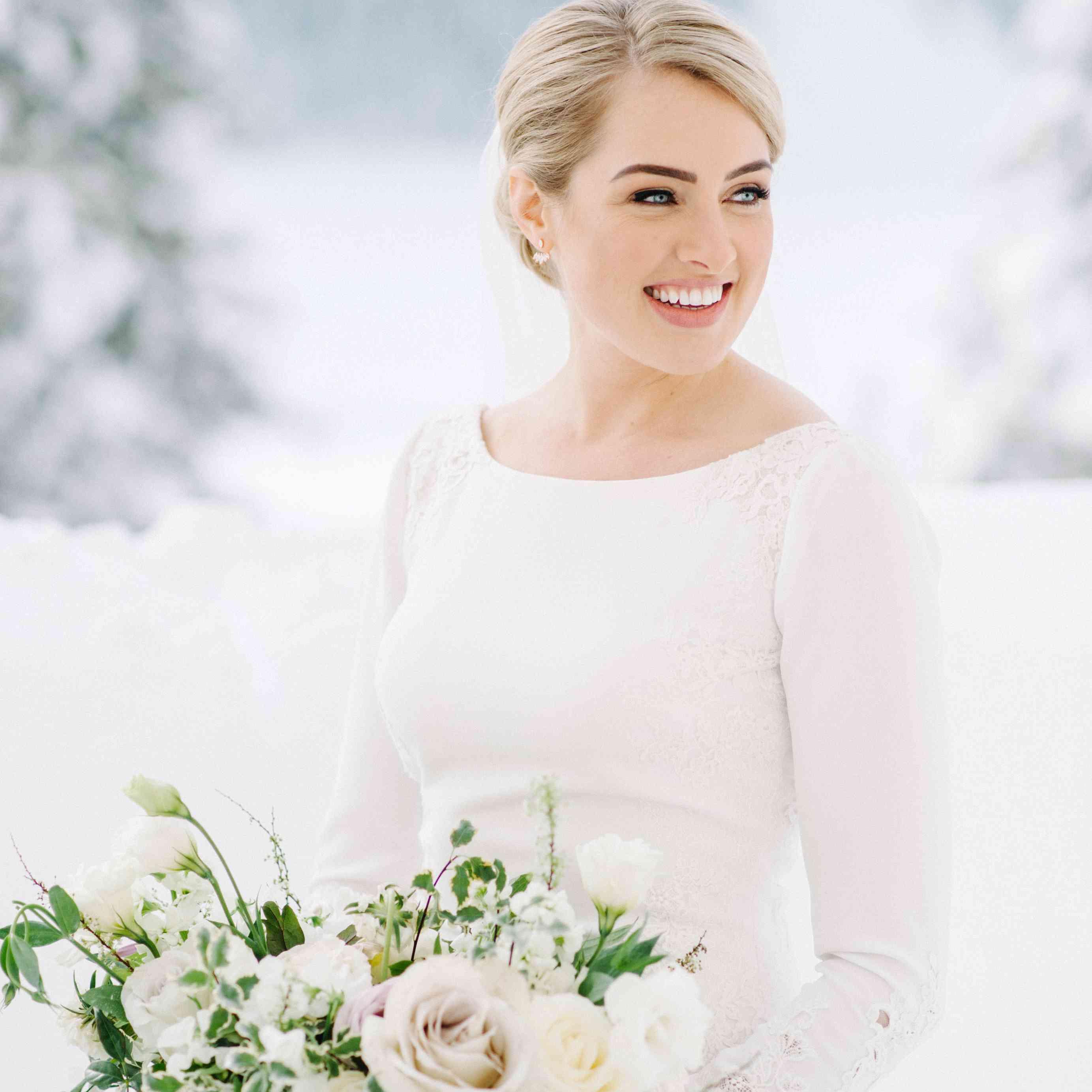 bride beauty shot