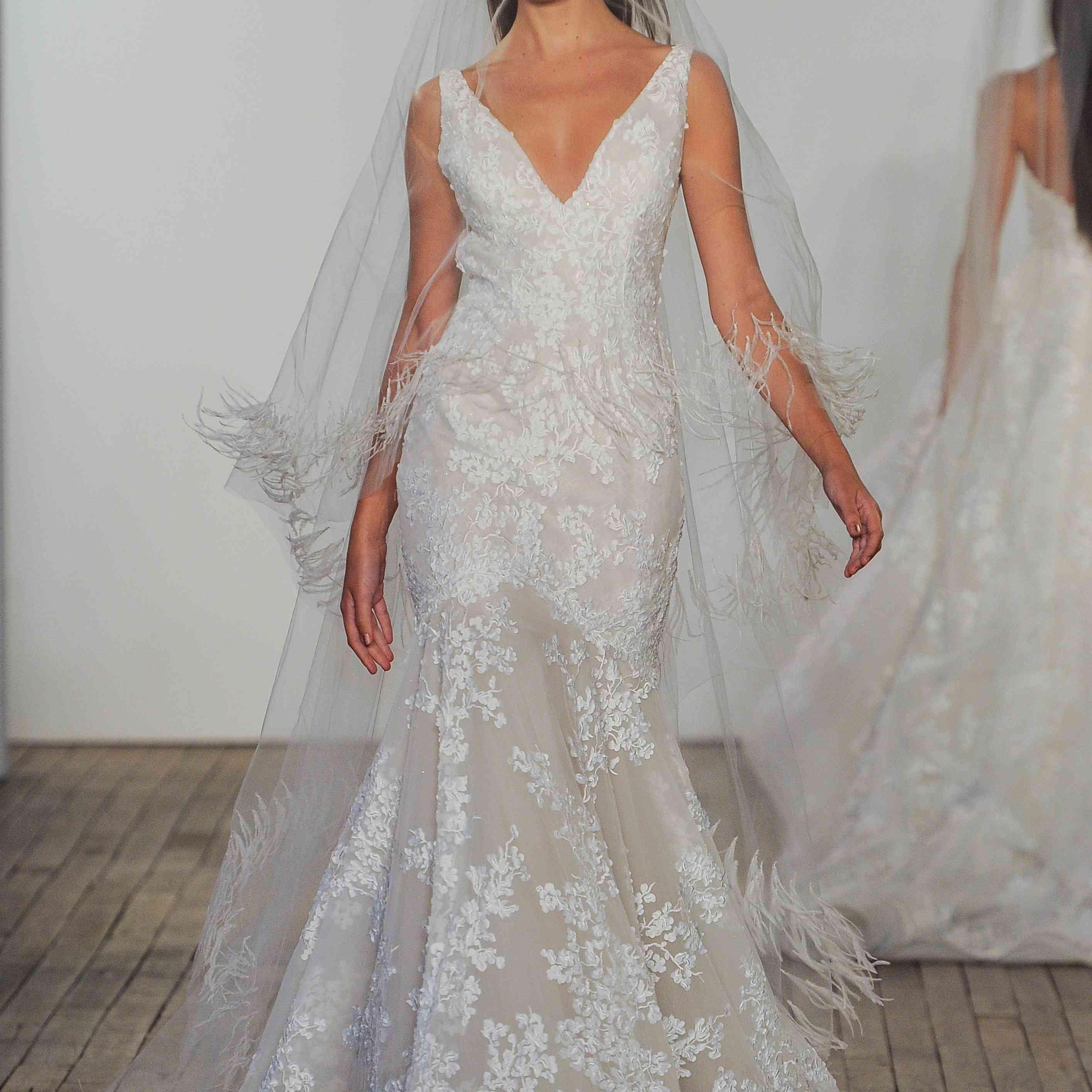 Vivien mermaid wedding dress