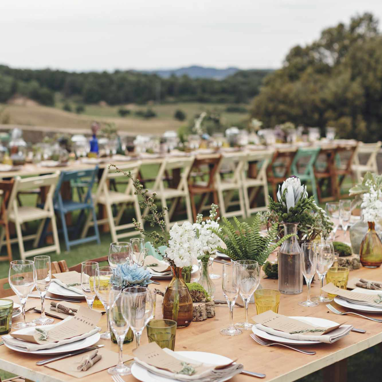 25 Old-Fashioned Country Wedding Ideas