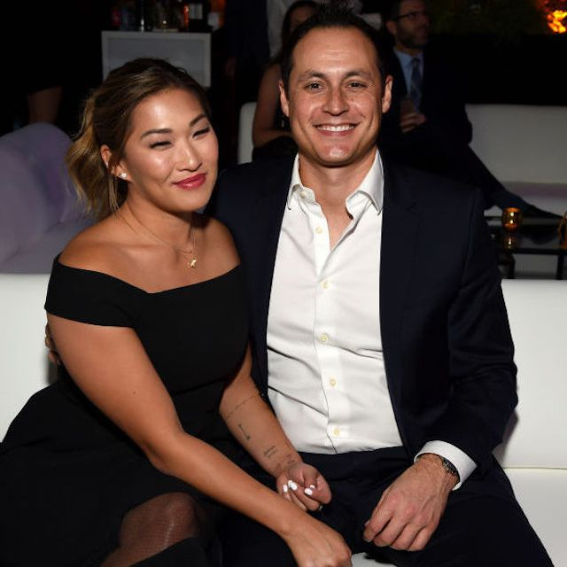 Jenna Ushkowitz and David Stanley
