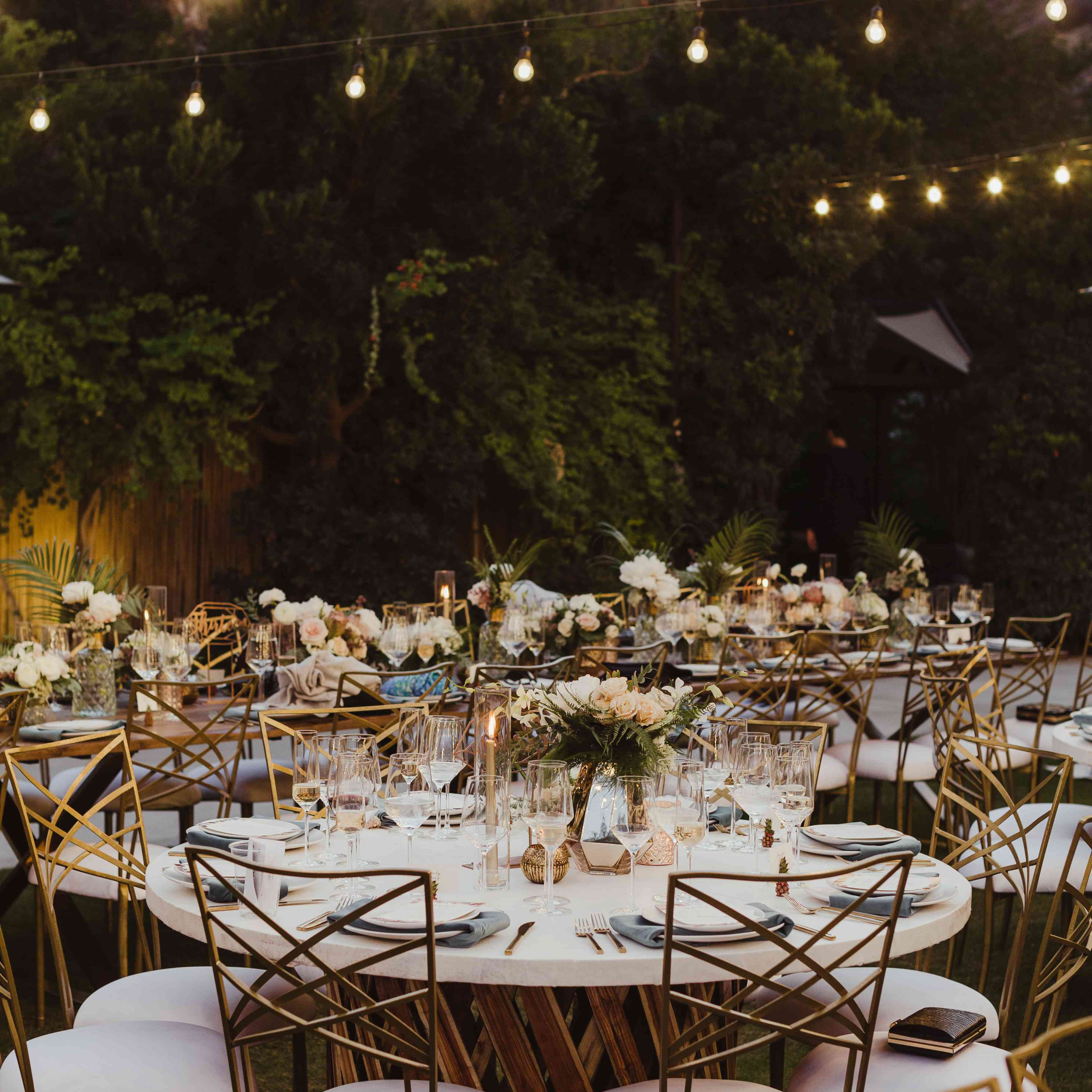 Reception seating arrangment
