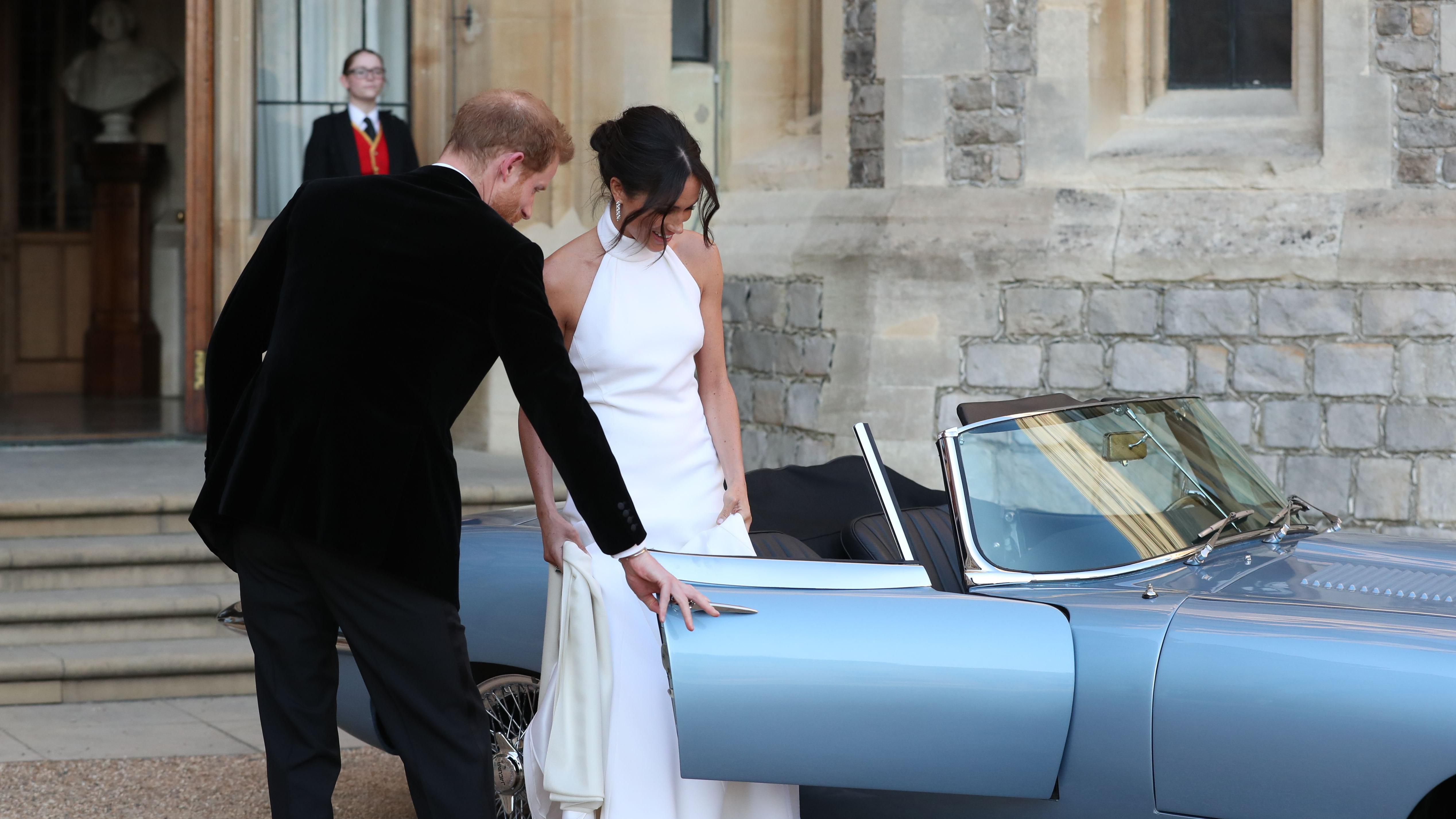 Inside Meghan Markle And Prince Harry S Royal Wedding Reception