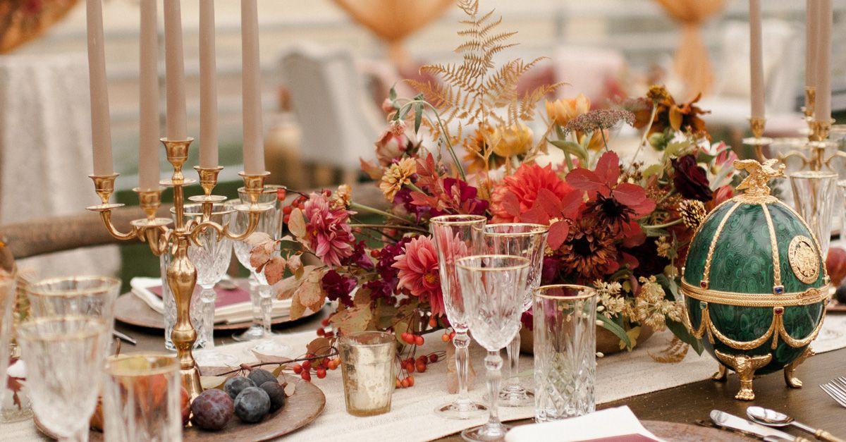 20 Colorful Fall Wedding Centerpiece Ideas