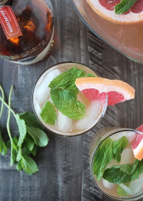 alcohol, tequila, lime, glass, drink, bar, cocktail, grapefruit, mint