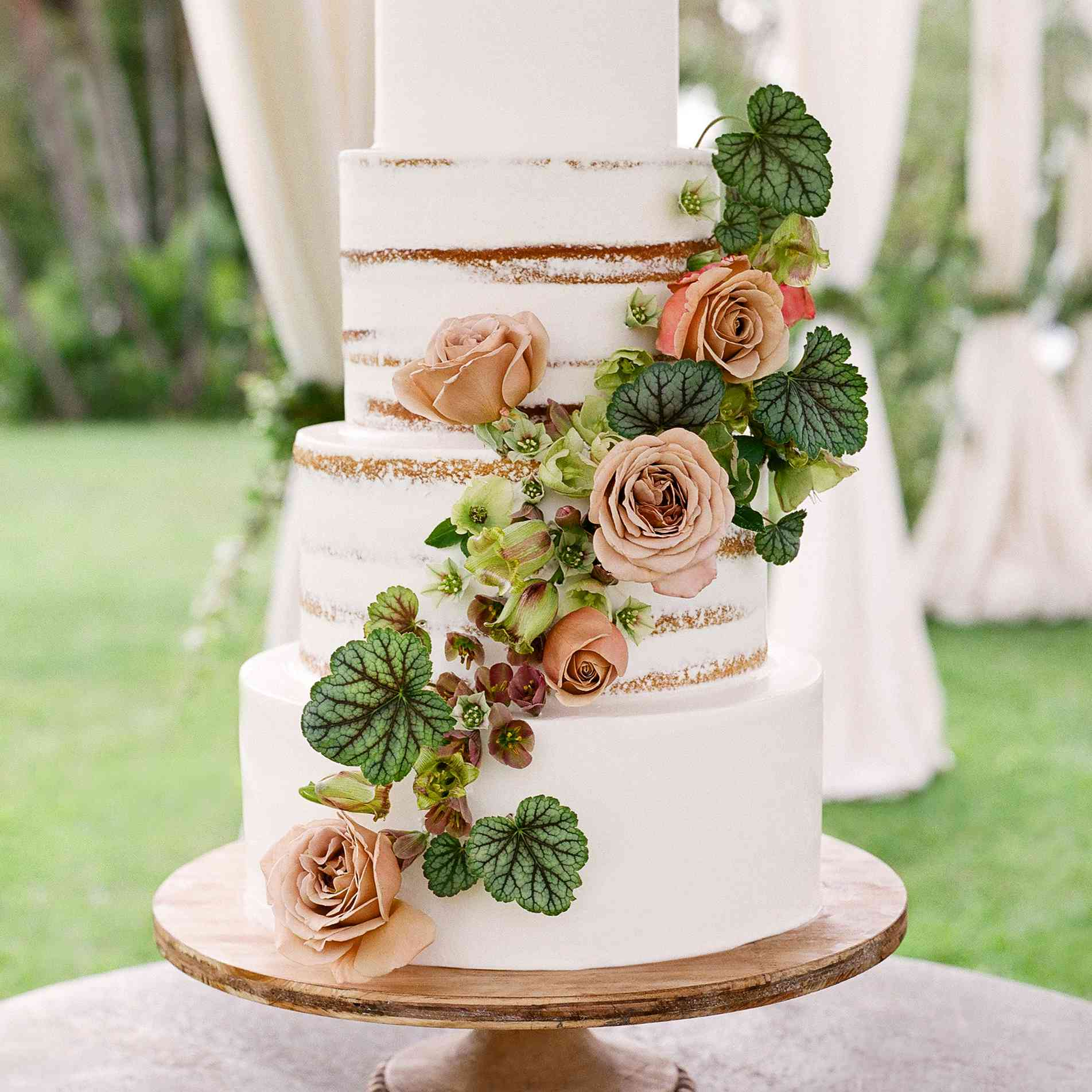 10 Simple Wedding Cakes for Every Style Celebration