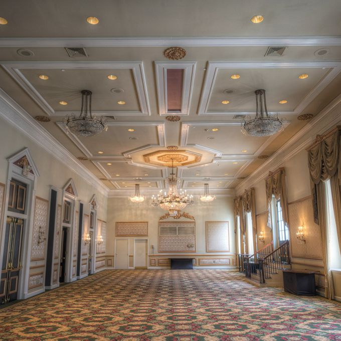 You can book your wedding in the same glamorous ballroom that guests of the French Quarter's Bourbon Orleans Hotel used in 1827, when it first opened. But that ballroom wasn't always so magical. In the late 1800s the hotel was converted into a school, medical ward, convent, and orphanage — right around the time that yellow fever struck the city, taking many lives. Many guests report seeing nuns and children walking the halls, but the most oft sighted is a young girl rolling and chasing her ball on the sixth floor. A confederate soldier haunts floors six and three, but at your wedding pay special attention to your guests. You may just spot the ghost dancer in the Orleans ballroom twirling underneath the crystal chandelier