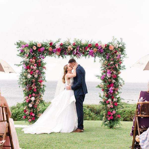 Beach Wedding Venues Washington State: The Martha's Vineyard Sound Was The Perfect Backdrop For