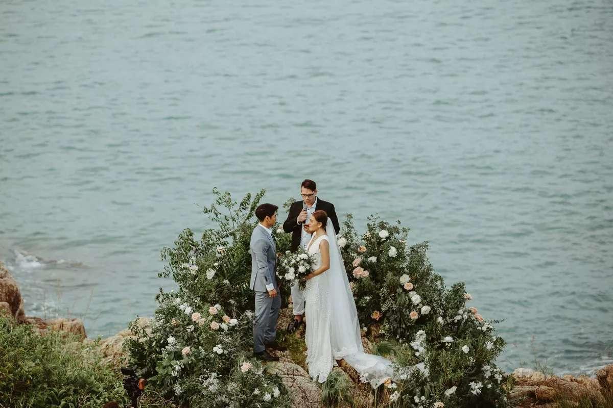 Samui Island, Thailand wedding