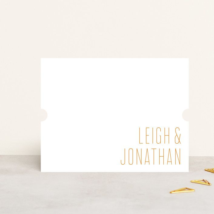 Ann Gardner Modern Couple Personalized Stationery