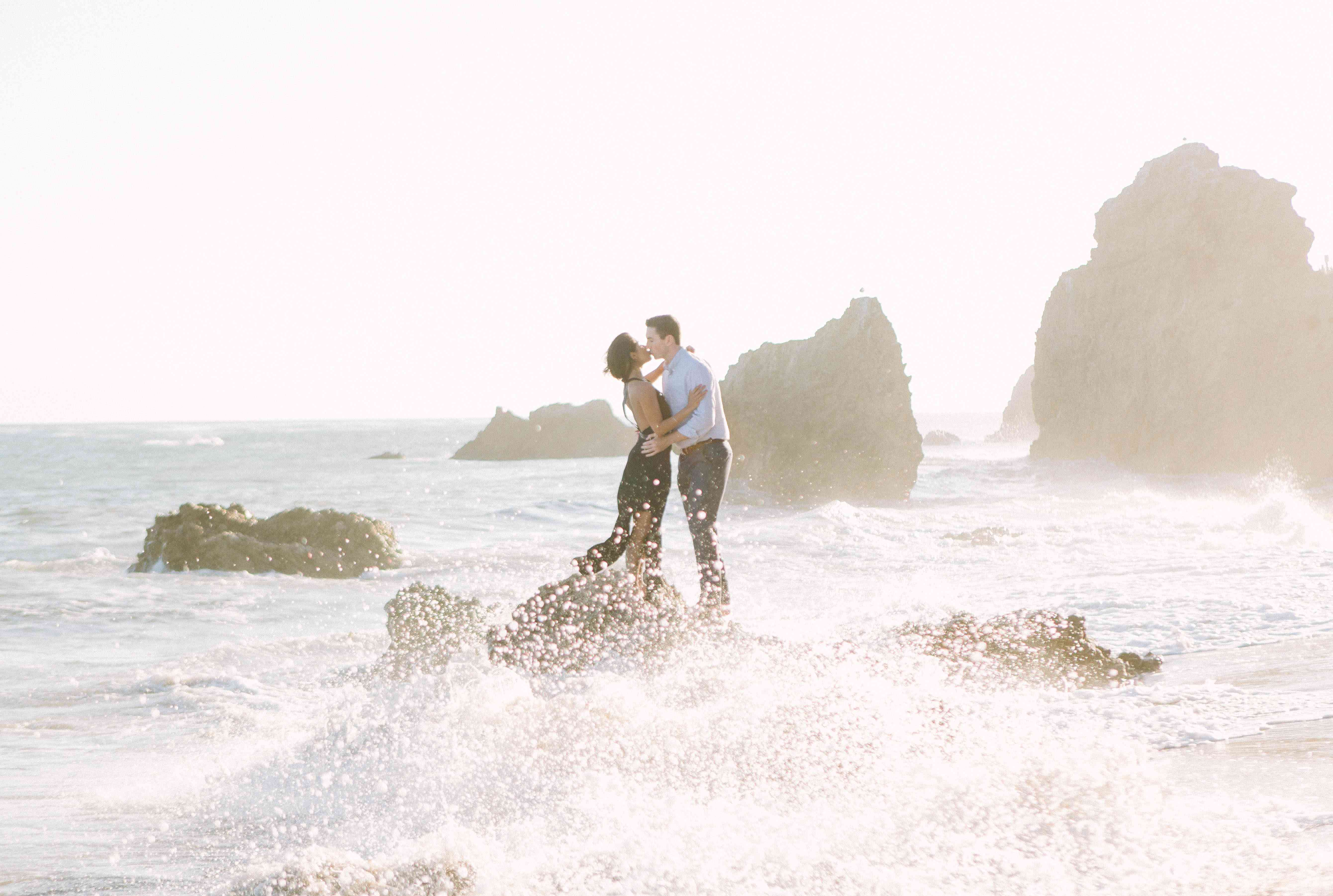 Couple at the ocean
