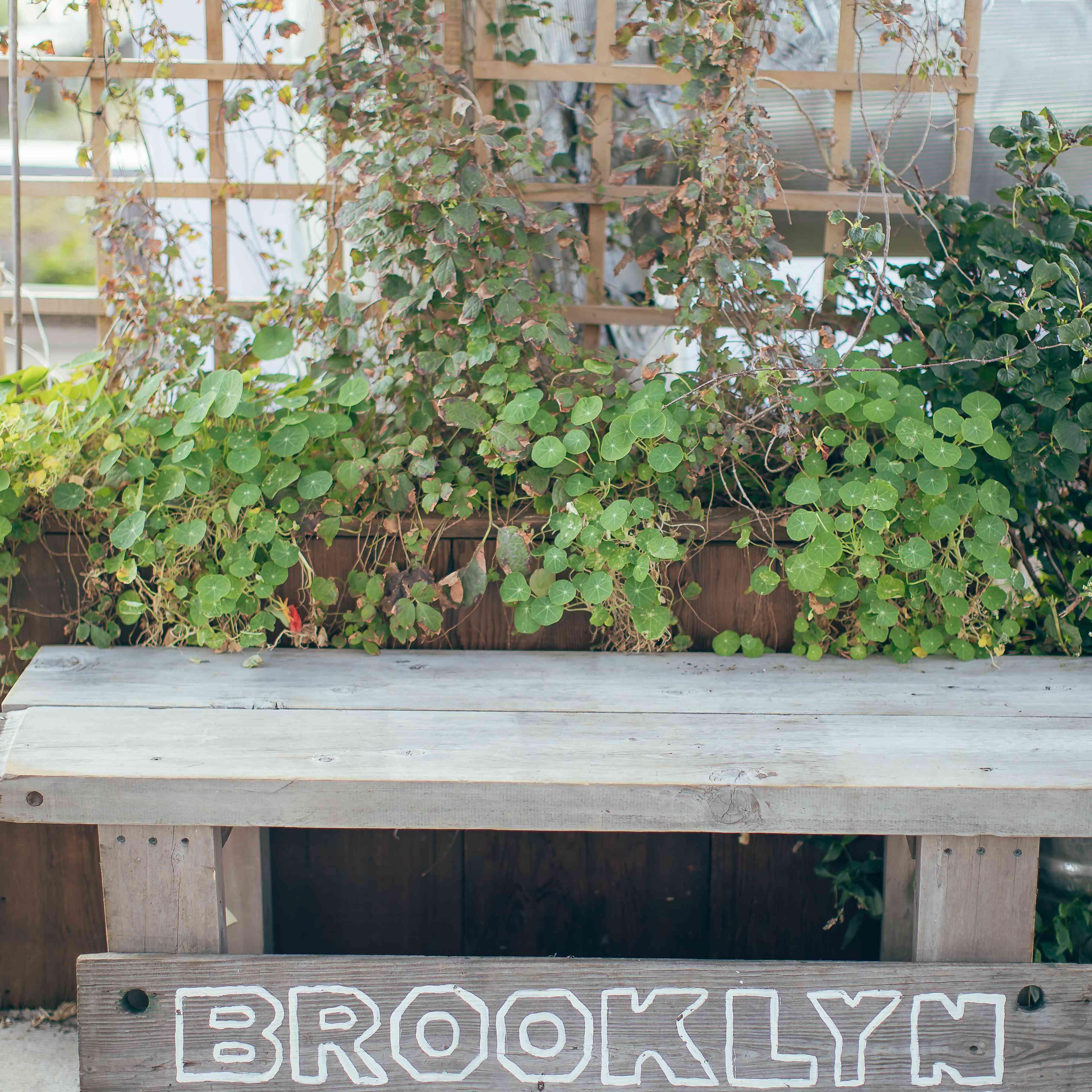 Brooklyn Grange Sign