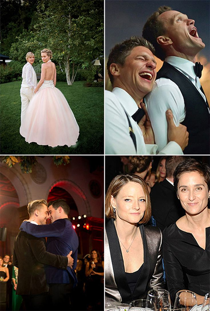 Famous Same Sex Couples Who Have Tied The Knot