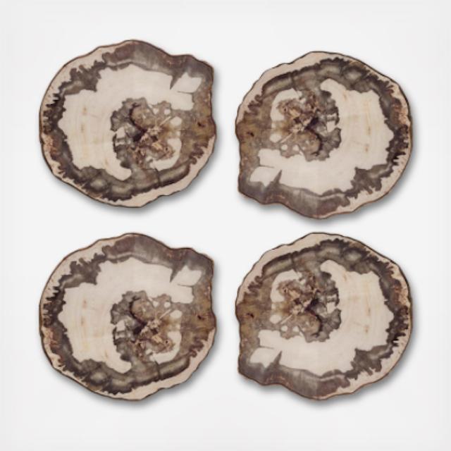 Kim Seybert Petrified Wood Coasters