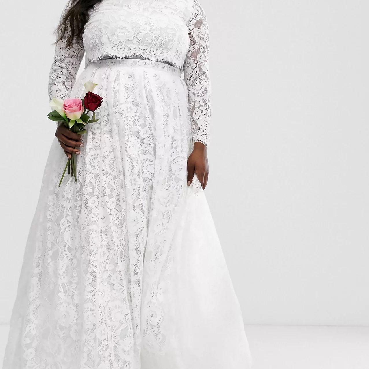 separates wedding dress