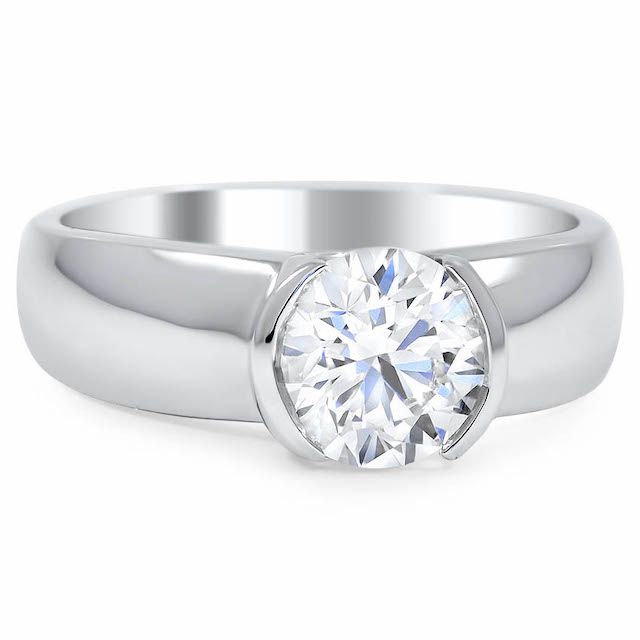 Wide Band Engagement Rings Everything You Need To Know