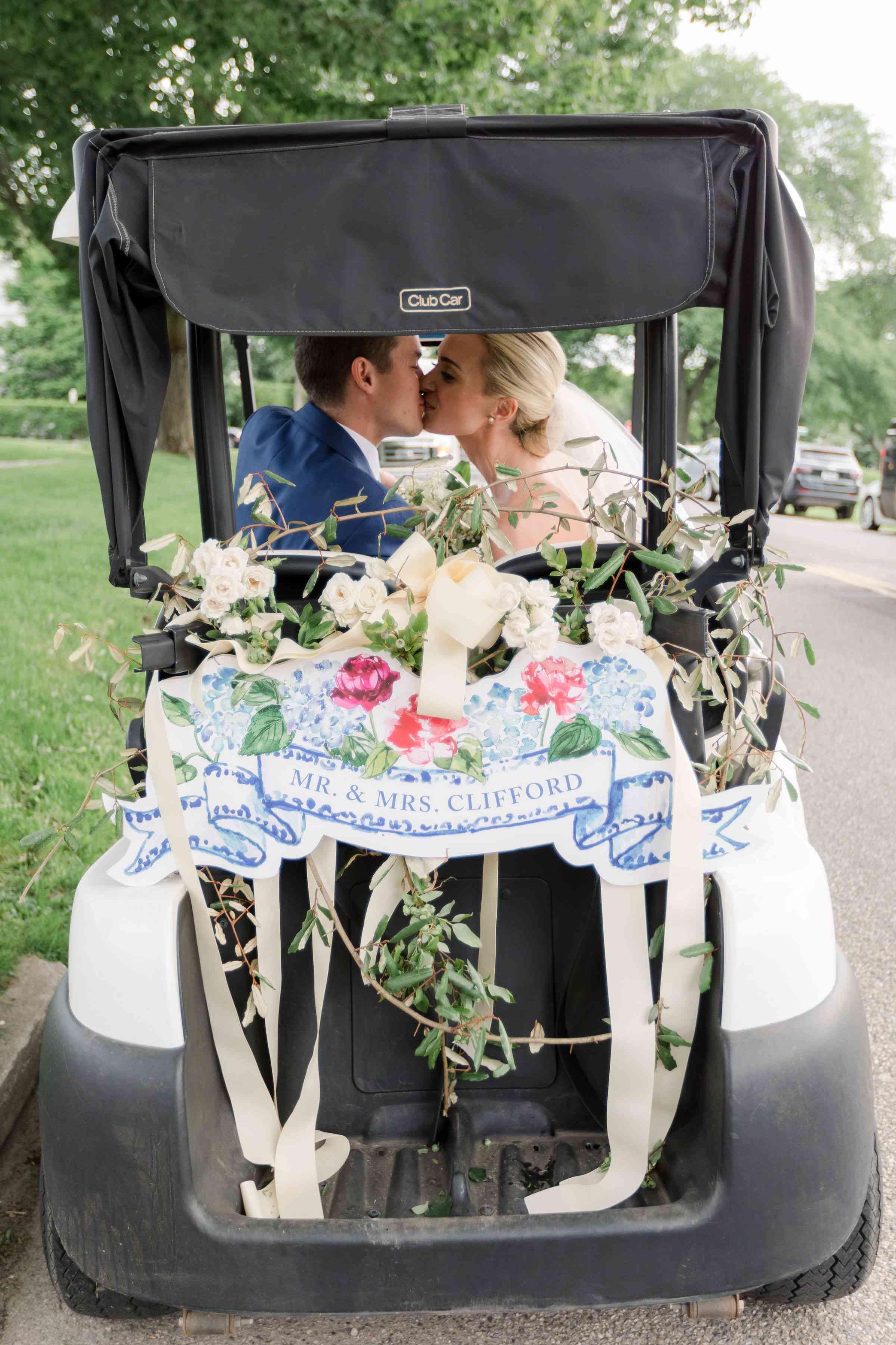 golf cart getaway car