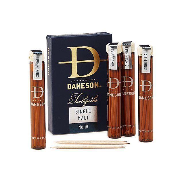 Daneson Scotch Infused Toothpicks Gift Set