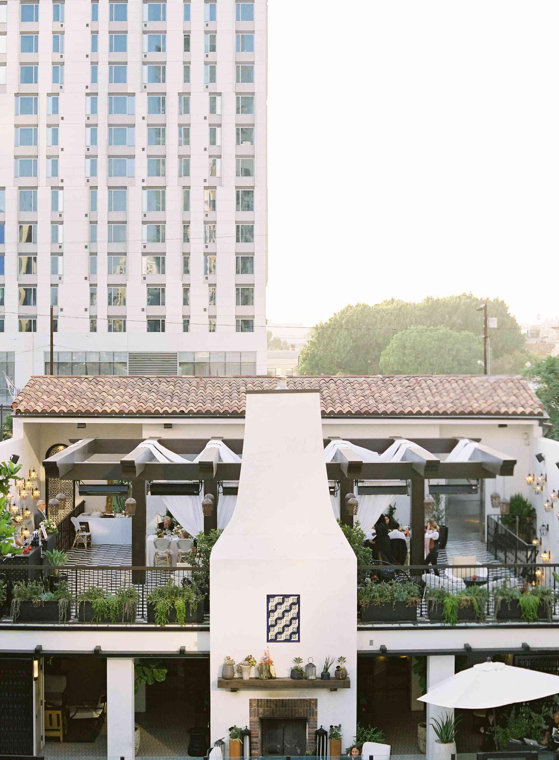 Hotel Figueroa in Downtown L.A.