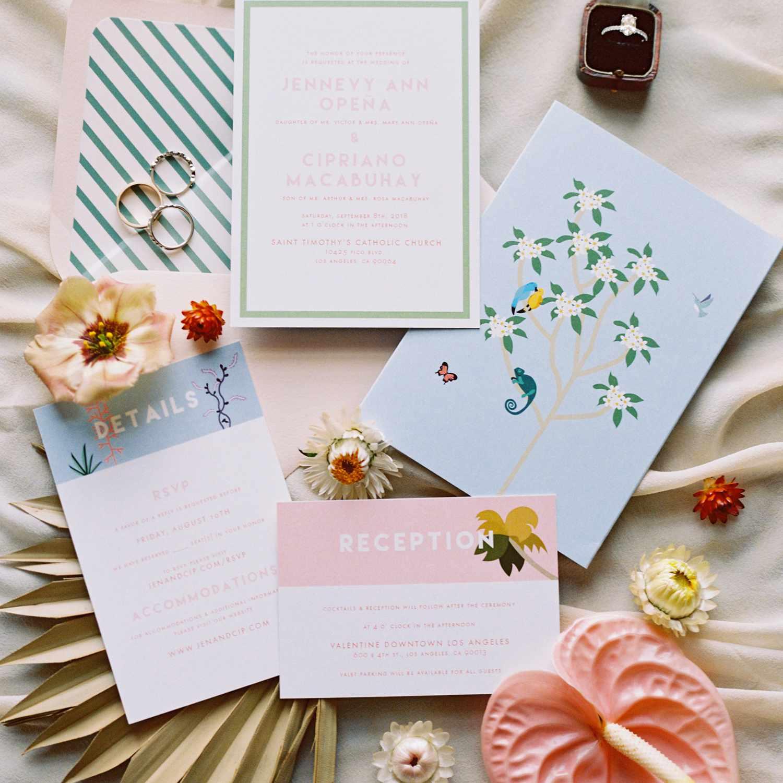 <p>Wedding invitations</p><br><br>