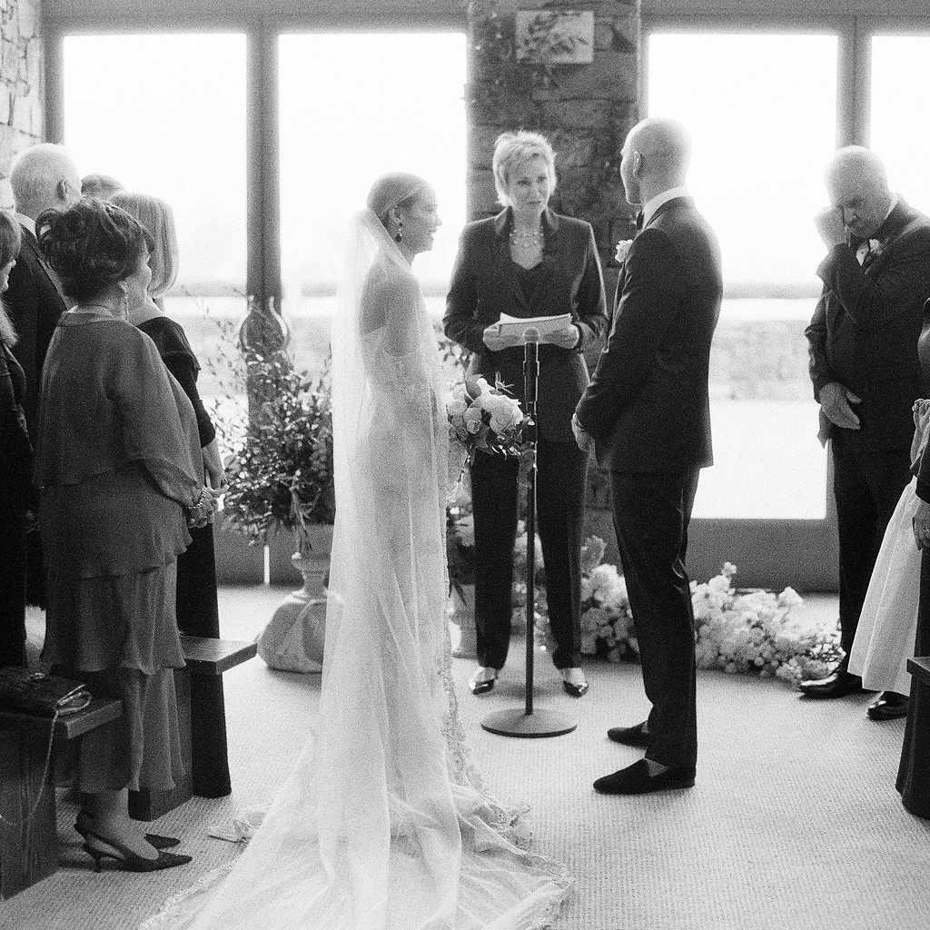 Becca Tobin's Wedding Ceremony