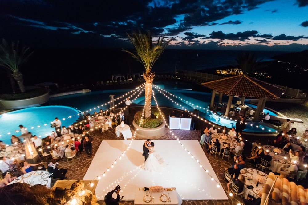 Overview of venue in Cabo San Lucas