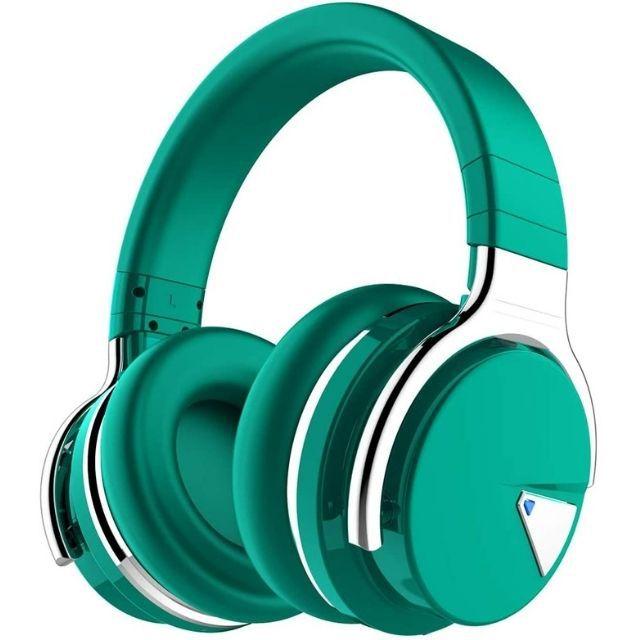 Cowin Emerald Green Noise Cancelling Headphones