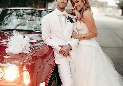 Darren Criss and Mia Swier wedding