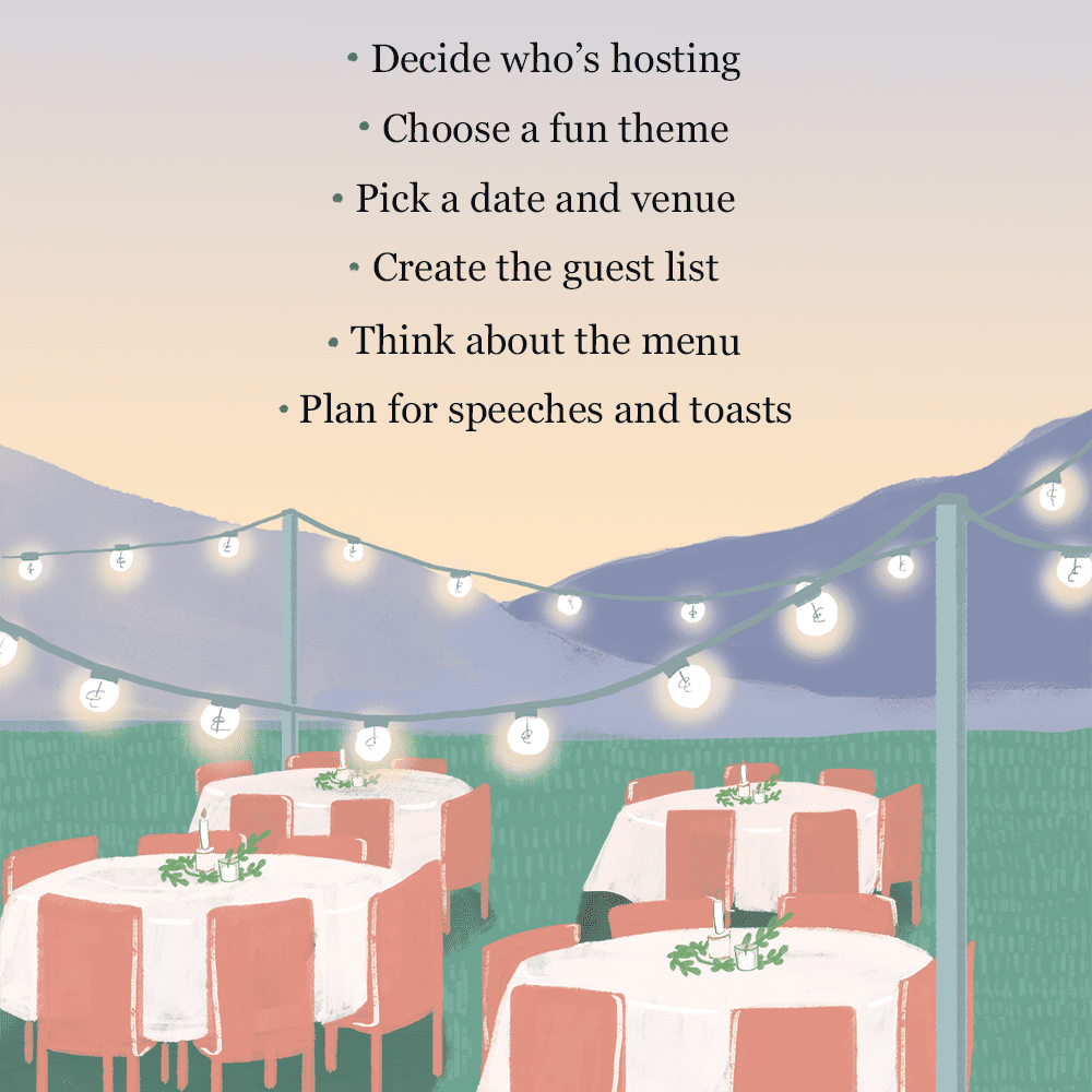 How To Plan A Rehearsal Dinner Tips And Etiquette