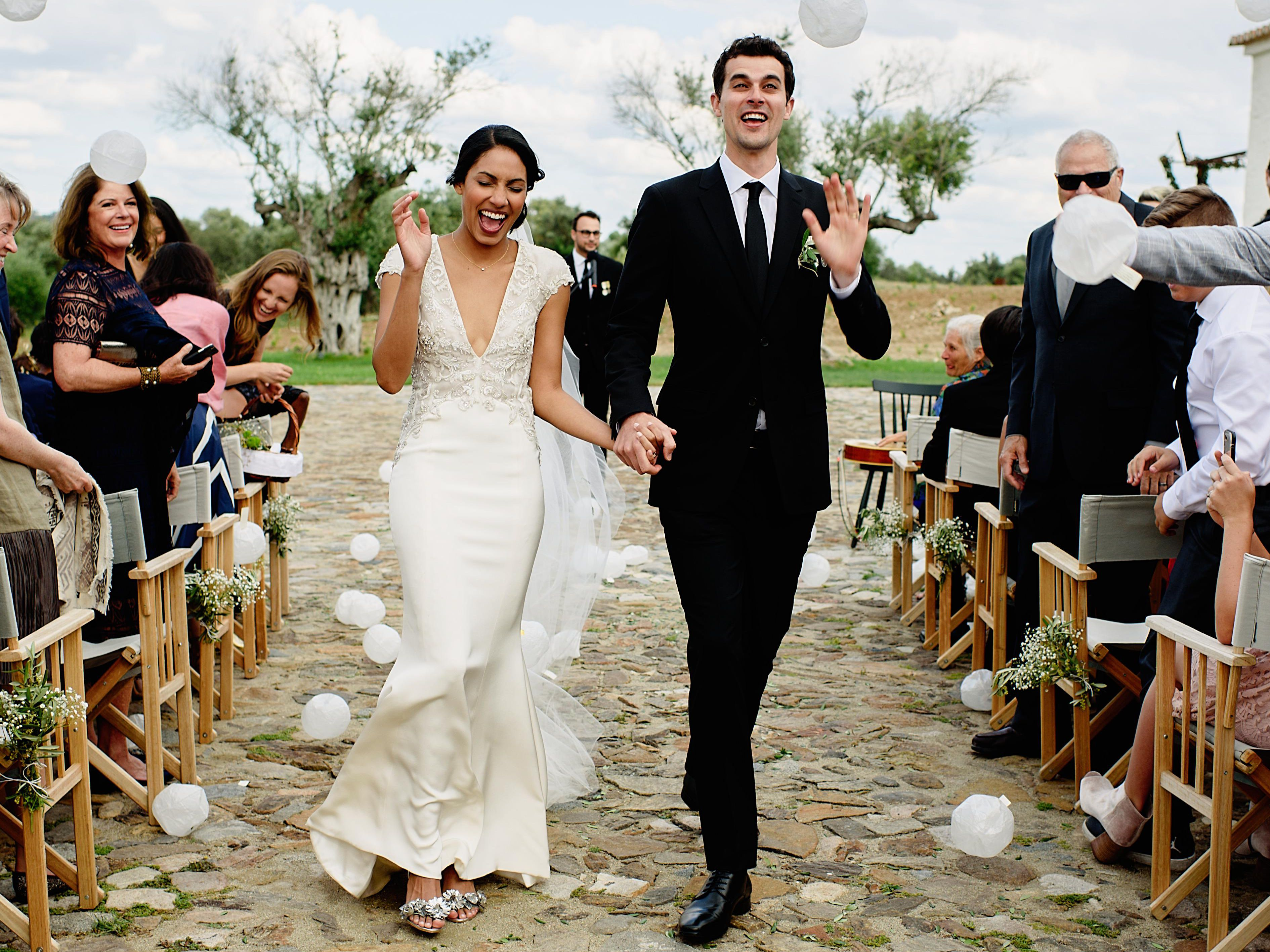 A Chic Diy Wedding In The Countryside Of Portugal