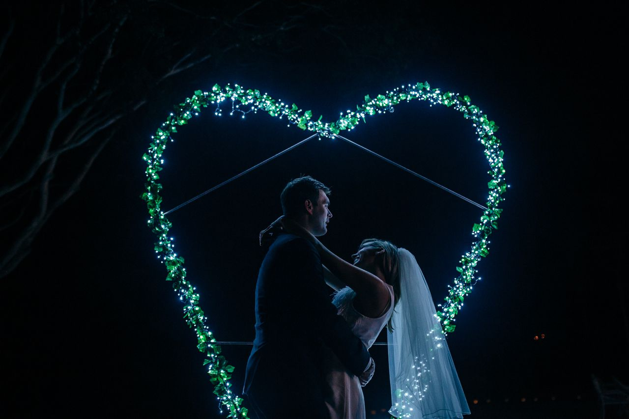 Heart Light Installation