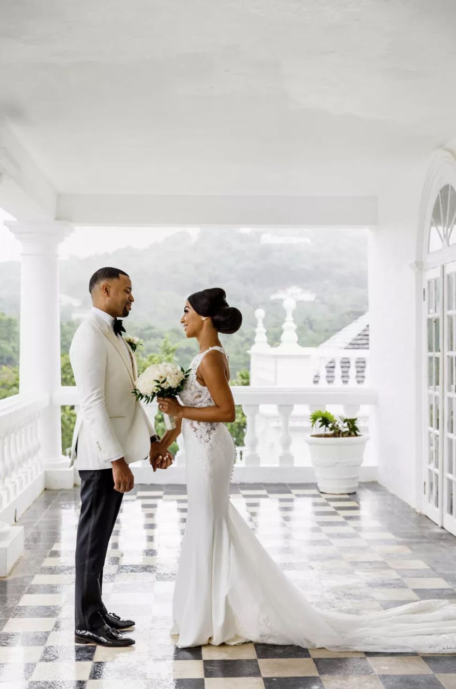Newlyweds first look