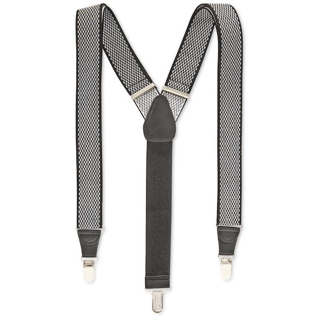 Diamond Print Suspenders